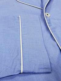 Pijama hombre Giulio en tela azul