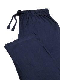Pijama Guasch algodón Burdeos con topitos en azul