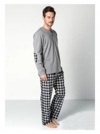 Pijama Guasch Algodón Gris