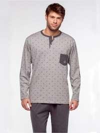 Pijama Guasch Hombre con topitos Cashmere
