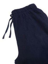 Pijama Guasch de Algodón listado burdeos y marino