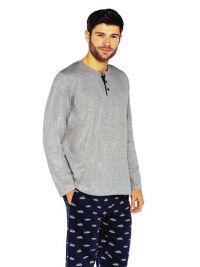 Pijama Guasch de Algodón con pantalón estampado