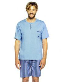 Pijama Hombre Guasch de Algodón y pantalón de tela