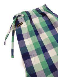 Pijama Guasch de Verano en azul y pantalón de tela