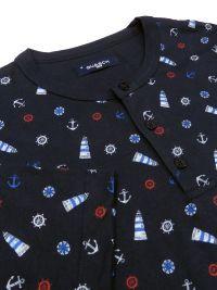 Pijama Guasch de Algodón con motivos marítimos