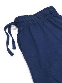 Pijama Guasch a rayas en punto de Algodón con tapeta y botones