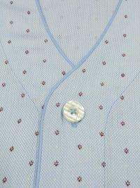 Pijama Guasch de Verano en Tela con topitos burdeos
