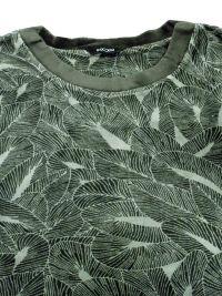 Pijama HOM en Terciopelo Foliage Verde con puños