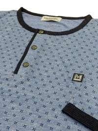 Pijama Hombre Massana Tapeta Azul