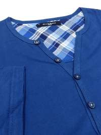 Pijama Guasch en Algodón Azul a Cuadros