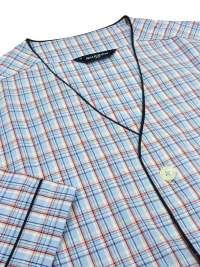 Pijama Guasch de Tela a Cuadros (sin cuello)