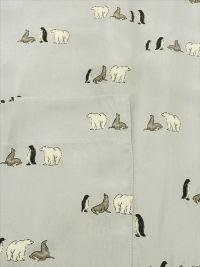 Pijama Iciar de Nicolás mod. Antártida en Cupro