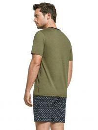 Pijama Impetus de Lyocell y Algodón Tiki en verde
