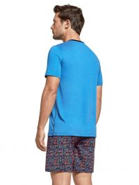 Pijama Impetus de Lyocell y Algodón Yangon en azul