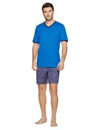 Pijama Impetus con Modal y Algodón en azul