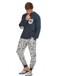 Pijama MuyDeMI en algodón con puños Lazy Day