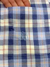 Pijama Kiff-kiff en tela a cuadros azules