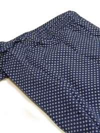 Pijama Kiff-kiff Hombre en tela azul con topitos