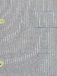 Pijama Kiff-kiff en tela azul con topitos corbateros