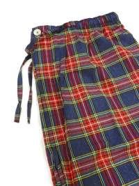 Pijama Kiff-kiff en tela a cuadros rojos