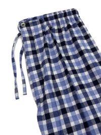 Pijama Kiff-kiff en tela a cuadritos azules