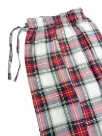 Pijama Kiff-kiff en villela a cuadros en rojo y blanco