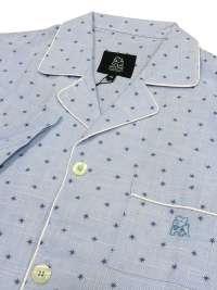 Pijama Kiff-kiff en tela azul con estrellitas