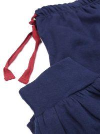 Pijama juvenil Lois afelpado marino con puños