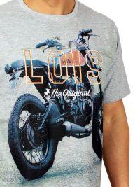 Pijama Lois Hombre con motocicleta