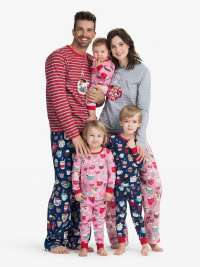 Pijama Little Blue House Holiday Cocoa