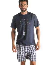 Pijama Hombre Pettrus Man Space