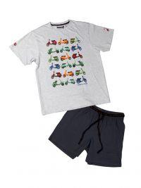 Pijama Pettrus Man con motos en algodón