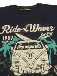 Pijama Pettrus Man mod. Ride the wave