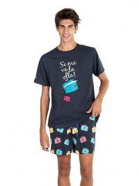 Pijama Pettrus Man mod. Se me va la olla
