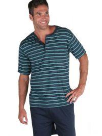 Pijama Hombre Pettrus Man a rayas en algodón