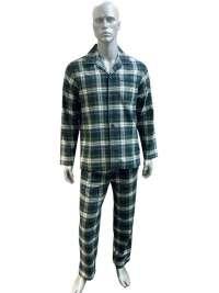 Pijama Polo Ralph Lauren de Franela en verde botella