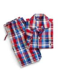 Pijama Polo Ralph Lauren Tela a Cuadros