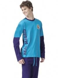 Pijama Real Madrid C. F. hombre en azul