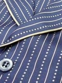 Pijama de Seda La Perla en Azul Marino