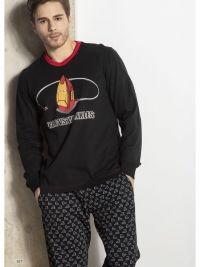 Pijama Soy Underwear en algodón mod. Iron con puños
