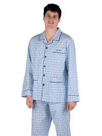 Pijama Pettrus Man en Tela de Algodón y acabado en cuadros