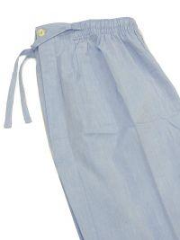 Pijama Kiff-kiff de tela  en Algodón Azul jaspeado