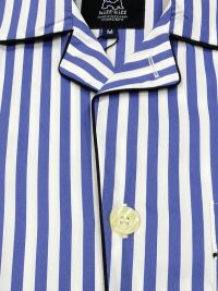Pijama Kiff-kiff de tela popelín con rayas anchas