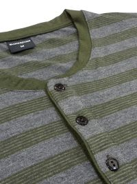 Pijama Térmico Blackspade a rayas en verde