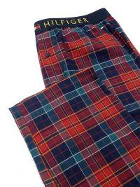 Pijama Tommy Hilfiger con camisero de algodón y bolsillo