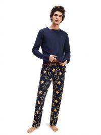 Pijama Tommy Hilfiger con pantalón de estrellas