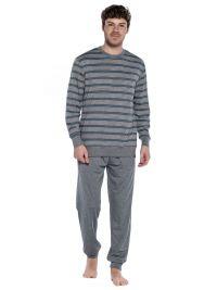 Pijama Punto Blanco mod. Urbanly en Modal con puños