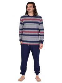 Pijama Pettrus Man con bolsillo en el pecho y puños
