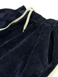 Pijama Punto Blanco Hombre Trust de Terciopelo con puños