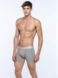 2 Pack Boxers Punto Blanco Seeking Naranja
